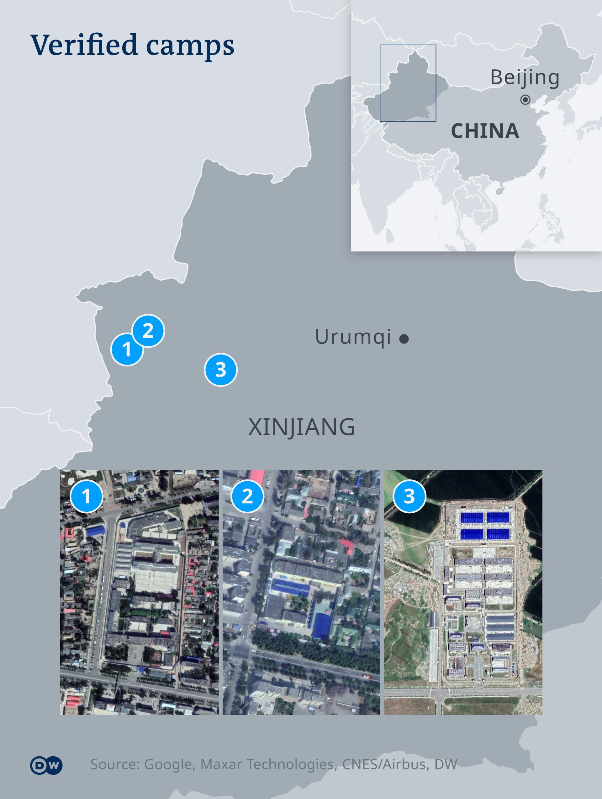 DW picture Xinjiang and Urimqi