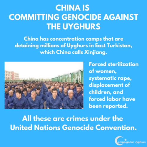 2 China is committing genocide against Uyghurs